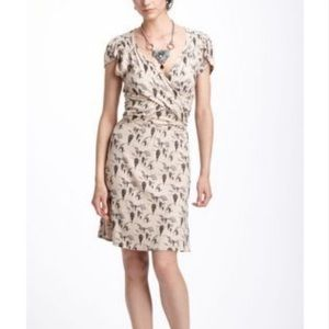 Anthropologie Up and Away patterned dress